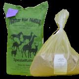 Neuweltkameliedenfutter, speziell für Alpakas und Lamas