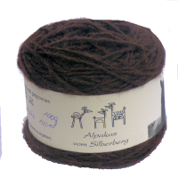 Alpakawolle chocolate fine