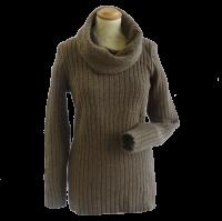 Damen Pullover braun