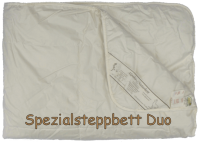 Alpaka Stepp-Bettdecke Duo