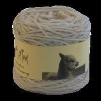 Alpakawolle wollweiß baby fine mit Seide