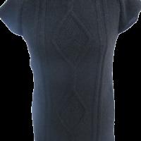 Strickkleid schwarz