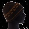 Mütze mit Musterkante