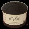 Alpakawolle schwarz suri