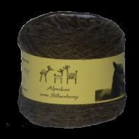 Alpakawolle silbergrau